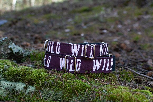 Into the WILD Eco Collar - Maroon
