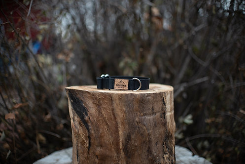 Black Cork Cat Collar