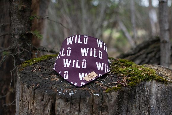 Into the WILD - Maroon Eco Bandana