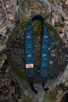 A Sasquatch Adventure Camera Strap