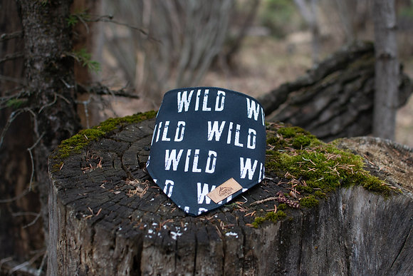 Into the WILD - White Eco Bandana