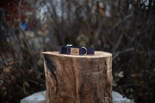 Purple Cork Cat Collar