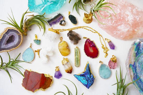 SandSilkSky About Crystals