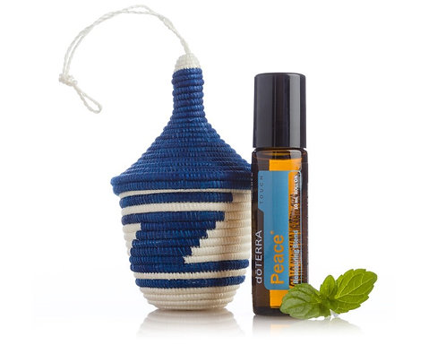 Rwandan Peace Basket +doTERRA Touch Peace Blend