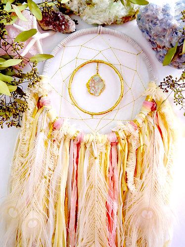 SOLD - Desert Blossom Dreamcatcher