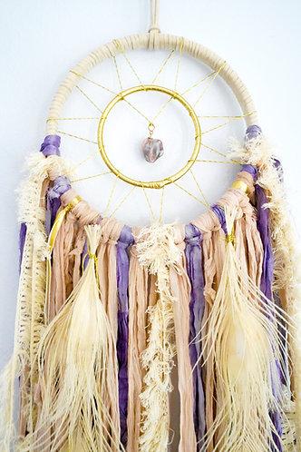 Purple Agate Dream Catcher ~ SandSilkSky ~ Summer Desert Decor