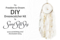 DIY Dream Catcher Kits supprt The Freedom Story non-profit children