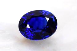 Grade AAAAA  Royal Blue Sapphire