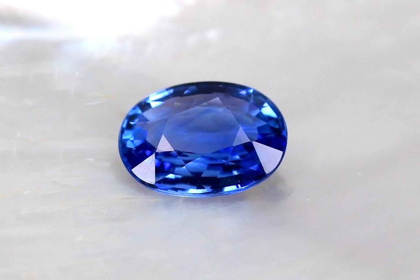 Grade AAA+ Vivid Blue Sapphire