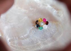 Nine Lucky gems