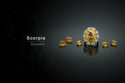 CITRINE and YELLOW SAPPHIRE