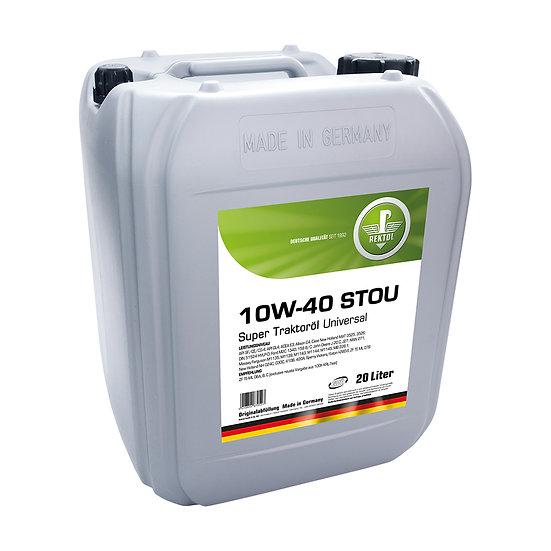 Rektol Super Traktoröl Universal 10W 40 (STOU) 20 Liter Kanister