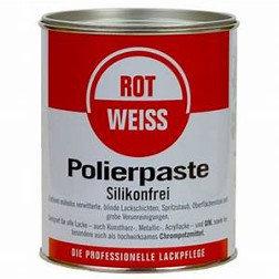 ROTWEISS Polierpaste silikonfrei 750 ml Dose