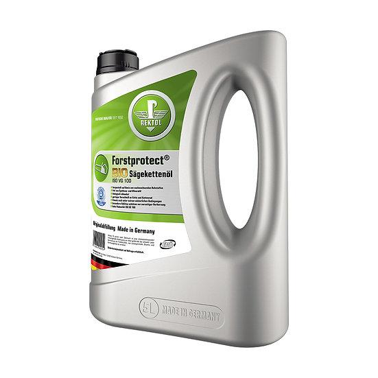 Rektol Forstprotect Bio Sägekettenöl 5 Liter Kanister