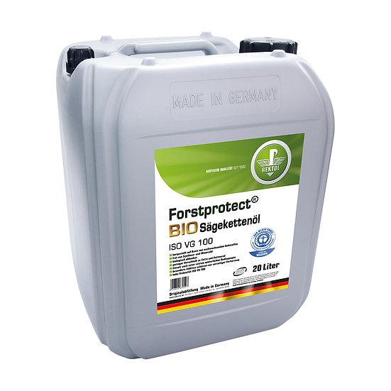 Rektol Forstprotect Bio Sägekettenöl 20 Liter Kanister