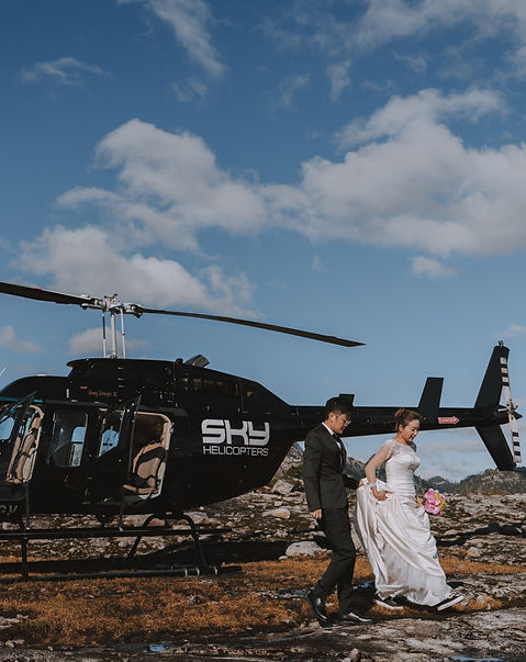 Helicopter Elopement BC