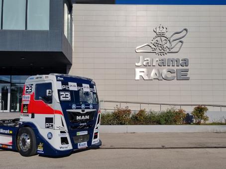 Serviced Race Truck