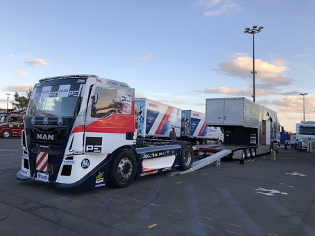 Loading at Le Mans