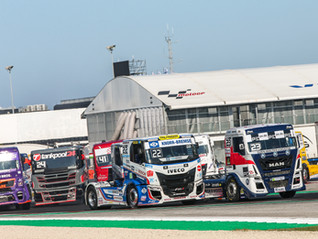 Exciting, high-adrenaline & successful final 2021 truck racing weekend at Misano for T Sport Bernau!