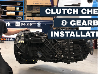 Clutch Check and Gearbox Installation