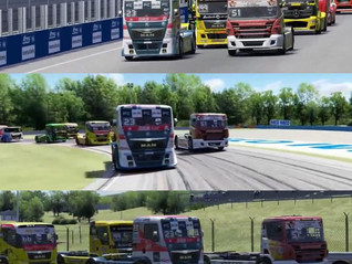A great start into the 2021 digital truck racing challenge!