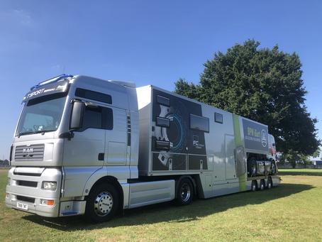 Arrival at Le Mans