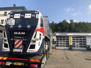 Stop off in Wuppertal - Garage Lunau