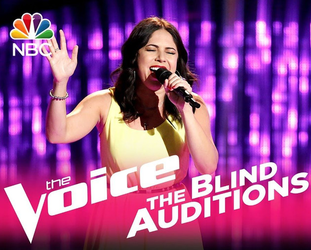 Valerie Ponzio Voice Blind Audition