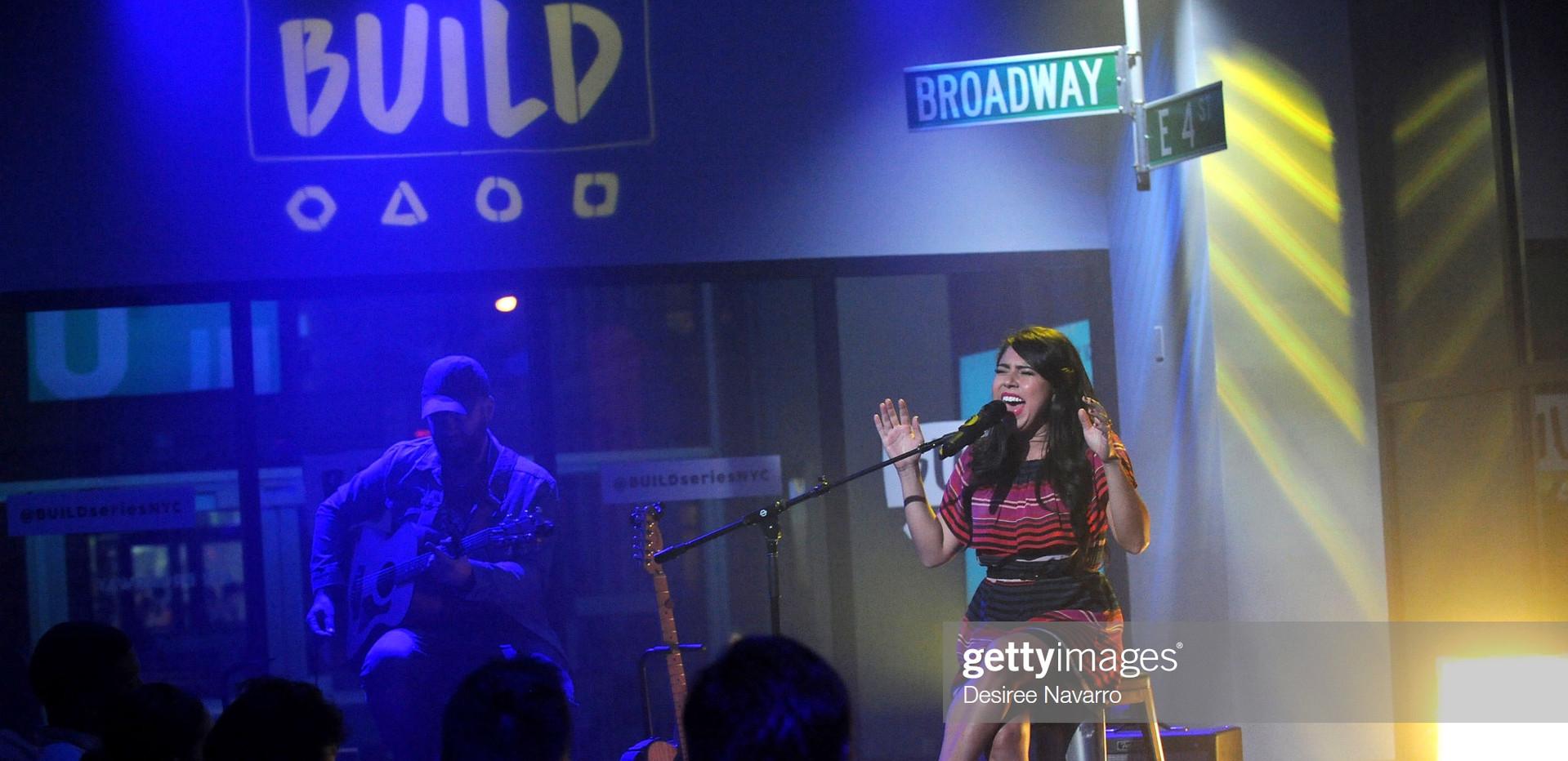 Valerie Ponzio Live in NY AOL Build