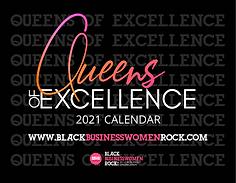 BBWR Queens of Excellence Calendar Cover