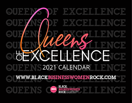 BBWR Queens of Excellence Calendar Cover
