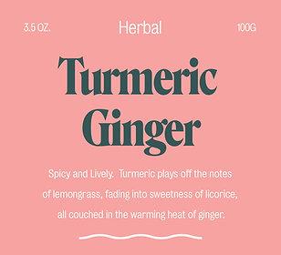 Tumeric Ginger -  Herbal Tea