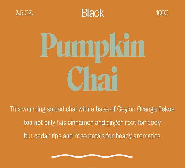 Pumpkin Chai - Black Tea