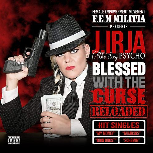 AUTOGRAPHED Blessed With The Curse: RELOADED Mixtape