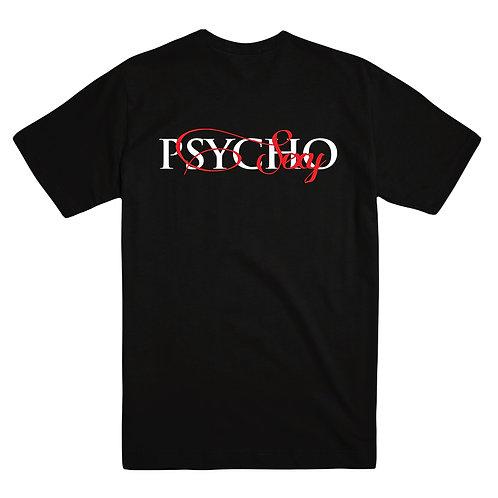 Men's Tee Black Sexy Psycho