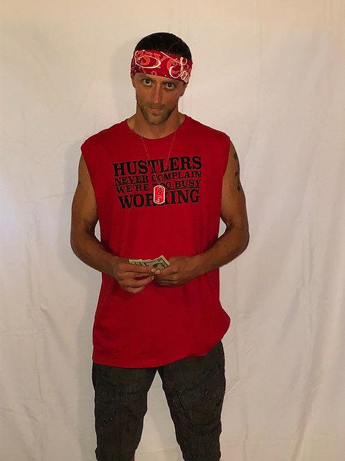 Men's Cutoff 'Hustler' Muscle Tank Top