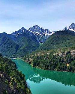 Diablo Lake, North Cascades NP, Washington