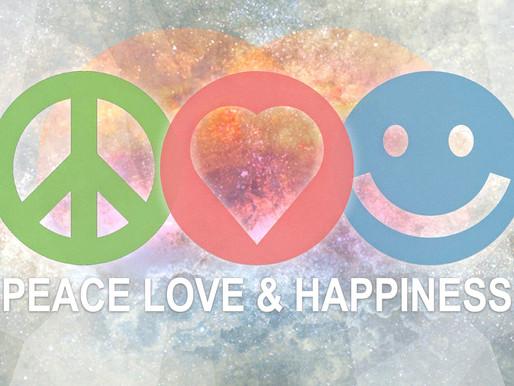 PEACE, LOVE & HAPPINESS - WEEK 3: Walk Humbly
