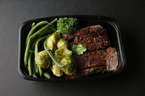 Grill Steak and Veggies