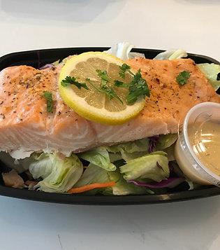 Grill Salmon Salad