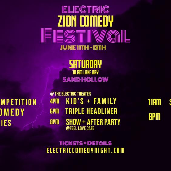 Zion Comedy Festival