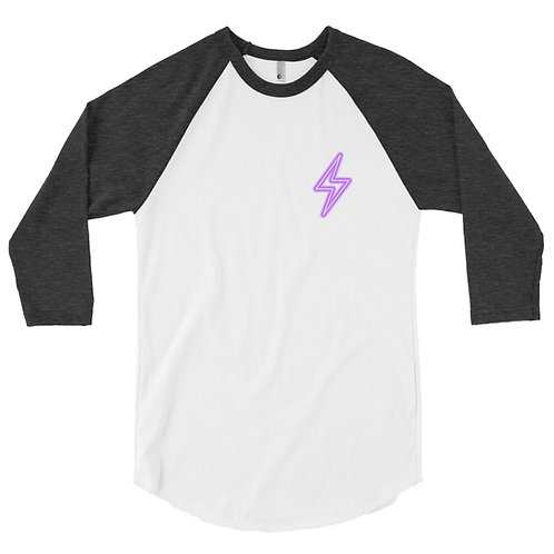 3/4 Electric Baseball T
