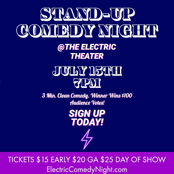 Electric Comedy Competition
