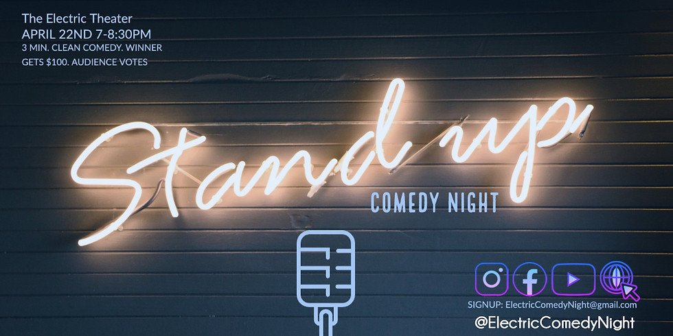 Electric Comedy Competition ⚡️