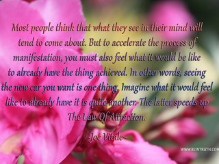 Are You Manifesting Effectively?