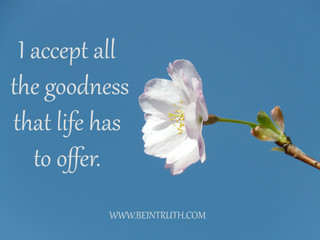 Are You Open To Goodness?