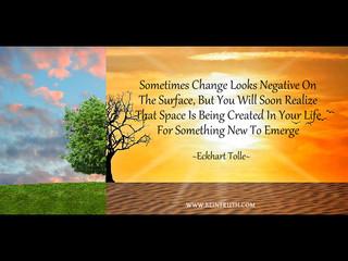 Change Isn't Always Bad.