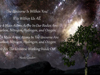 You Are The Universe Inside Out!