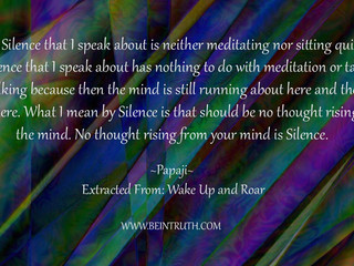 Are You In Tune With Silence?