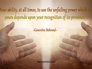Are You Aware Of Your Power Within?